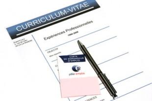 Curriculum vitae, chômage, pôle emploi