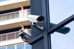 Caméra de surveillance en ville