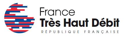 Logo officiel de la France Très Haut débit