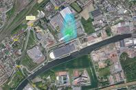 L'évolution des panaches d'odeurs au voisinage du centre de valorisation organique de Lille est désormais modélisée en temps réel.