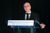 Le ministre de l'Intérieur Bernard Cazeneuve a ouvert les débats d'un colloque consacré à la prévention de la délinquance, lundi 13 octobre.