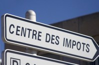 Pancarte centre des impôts