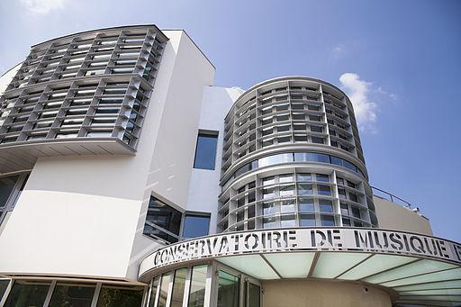Conservatoire de musique et de danse Maurice Ravel,  mairie de Villemonble CC BY SA 3.0