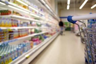 Rayon dans un supermarché
