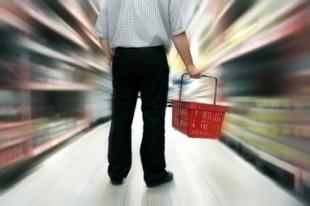 Achats dans un supermarché