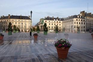 La place du Martroi, à Orléans.