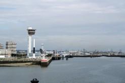 Le port du Havre (Seine-Maritime)