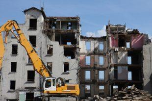 Démolition immeuble