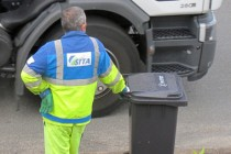 Collecte des déchets par les éboueurs