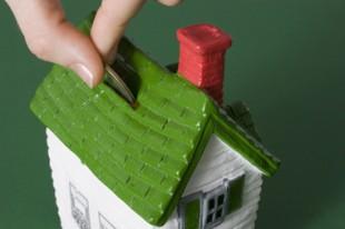 Tirelire en forme de maison