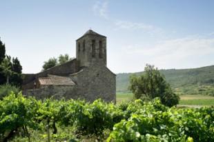 Eglise dans un village