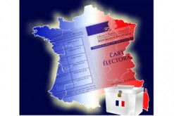 Carte de france bleu blanc rouge