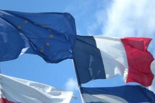 Drapeaux France Europe