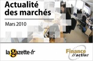 L'actualité des marchés, mars 2010