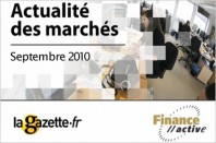 Baromètre Finance Active - La Gazette septembre 2010