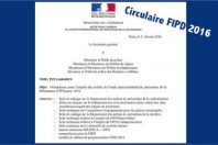 FIPD circulaire 2016