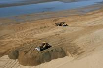Reconstruction des dunes de la pointe d'Arçay, Xynthia, Vendée