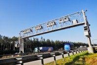 german autobahn toll bridge