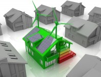 house energy concept
