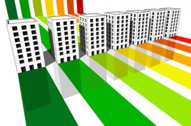 seven apartment houses certified in seven energetic classes