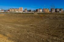 Polígono de viviendas en construcción