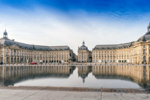 La place de la Bourse, à Bordeaux.