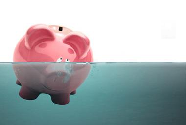 Drowning Piggy