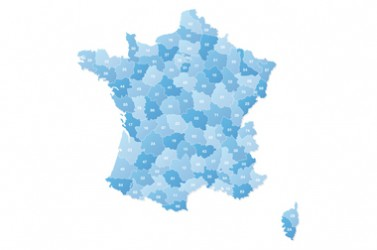 Carte de france départementale