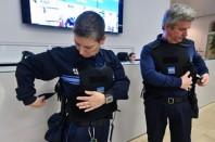 LILLE - GILET PARE BALLES POUR LA POLICE MUNICIPALE