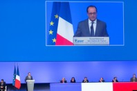 HOLLANDE CONGRES 1 une