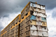 Immeuble dégradé