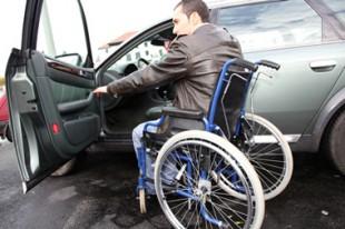 Handicapé en voiture