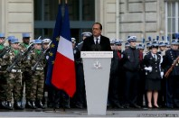 Hollande voeux police janvier 2016