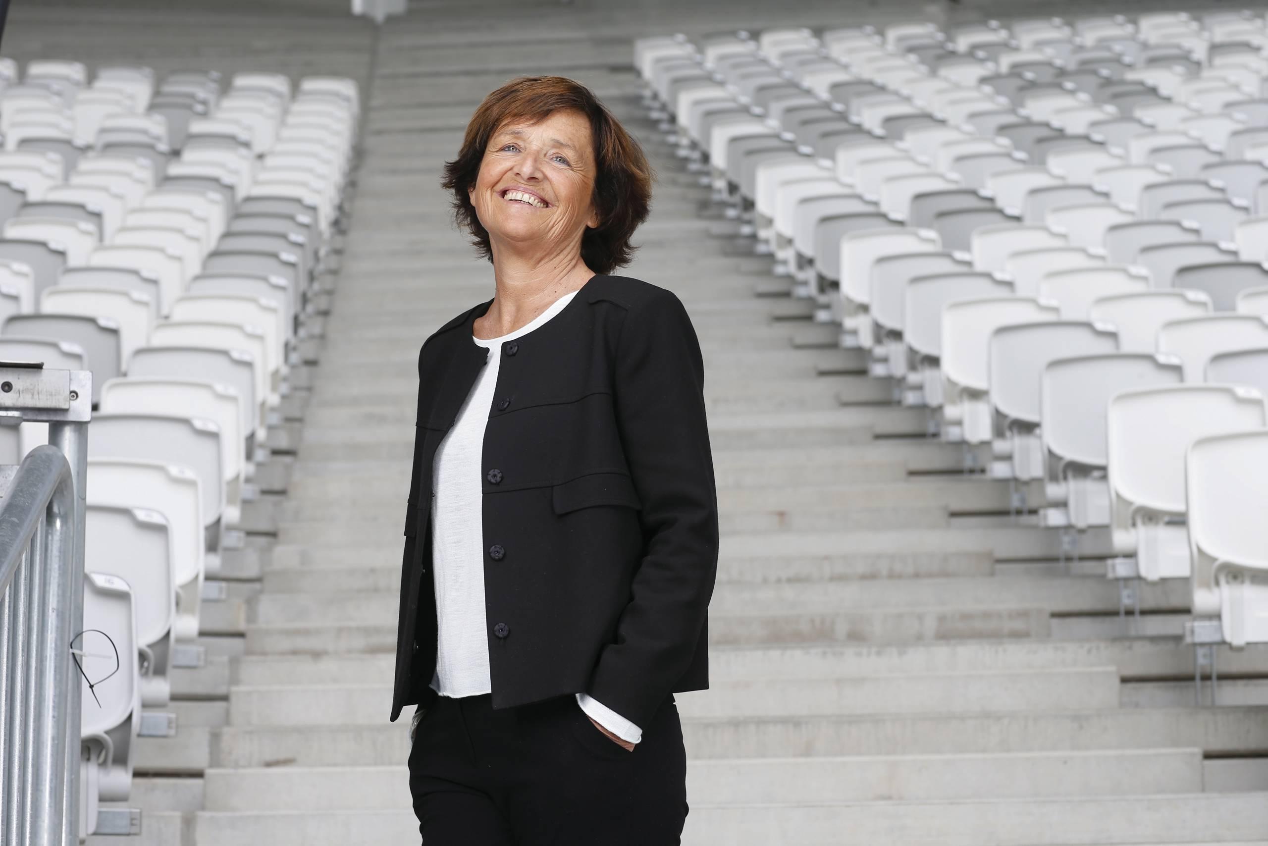 Arielle Piazza, adjointe chargée du sport à la ville de Bordeaux