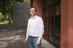 Nicolas Naffrechoux, directeur des systèmes d'information de Saint-Ouen-l'Aumône.