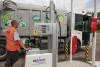 Environ 40véhicules  du Sydeme roulent au gaz. En fonction du prix du gazole, l'économie de carburant varie entre 5 000 et 10 000 € par an et par poids lourd.