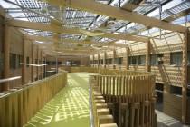 Les projets publics, tel le lycée Florence-Arthaud de Saint-Malo, permettent aux entreprises du secteur de faire reconnaître leur