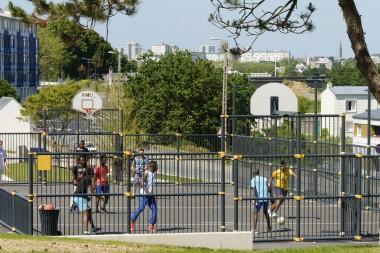 Réaménagé en 2013, le jardin Jegaden a fait la part belle aux pratiques sportives, avec des équipements en libre accès.