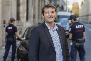 Nicolas Andreotti, directeur de la tranquillité publique de Bordeaux