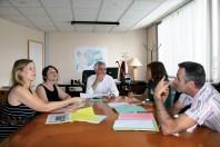 L'équipe du  GIP Insertion 70 est composée d'un directeur et de chargés de mission qui prennent chacun en charge une centaine d'allocataires.