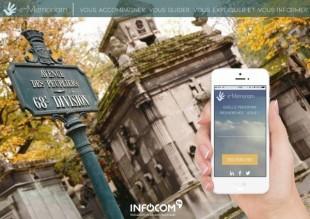 L'appli E-Memoriam, conçue par les étudiants, permet de localiser les tombes, avertir les ayants droit et leur proposer l'entretien des sépultures.