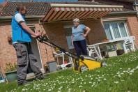 L'entretien des jardins et potagers fait partie des activités assurées par la conciergerie, moyennant une participation du demandeur selon ses revenus.