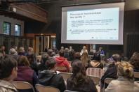 Annecy, mai 2017. Des réunions d'information ont été organisées et déclinées selon les publics, comme ici, à destination des parents d'élèves.