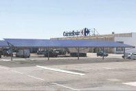 Le projet Urbasolar sur le parking du Carrefour de Lattes (34), en image de synthèse.