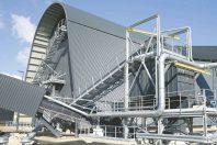 La chaufferie biomasse de Surville (69), inaugurée le 11 avril 2019, est la première chaufferie urbaine biomasse de France.