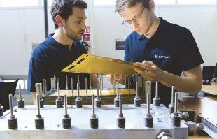 À Toulouse, Safran développe une pile à combustible pour l'alimentation électrique des systèmes annexes des avions.