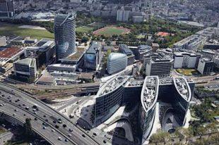 Le quartier d'affaires Seine-Ouest est l'un des trois quartiers couverts par le smartgrid à Issy-les-Moulineaux.