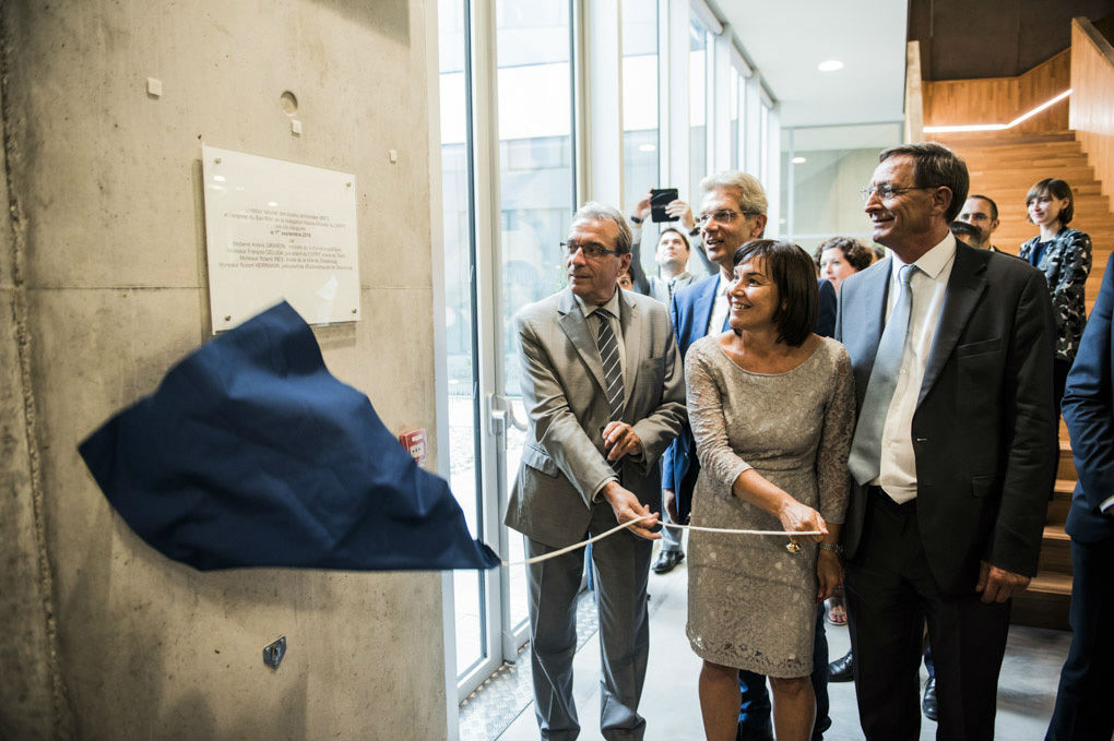 L'Inet dans ses nouveaux locaux à Strasbourg