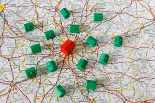 Maisons en banlieue de Paris