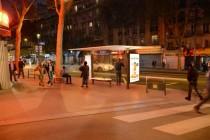 Abribus JCDecaux Paris